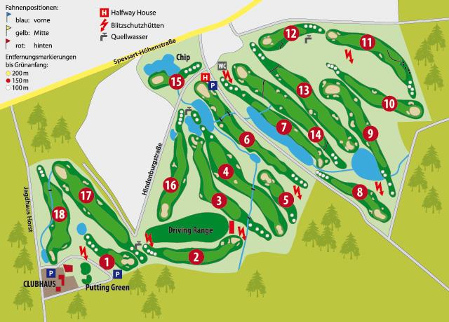 Platzübersicht – Golf-Club Bad Orb Jossgrund